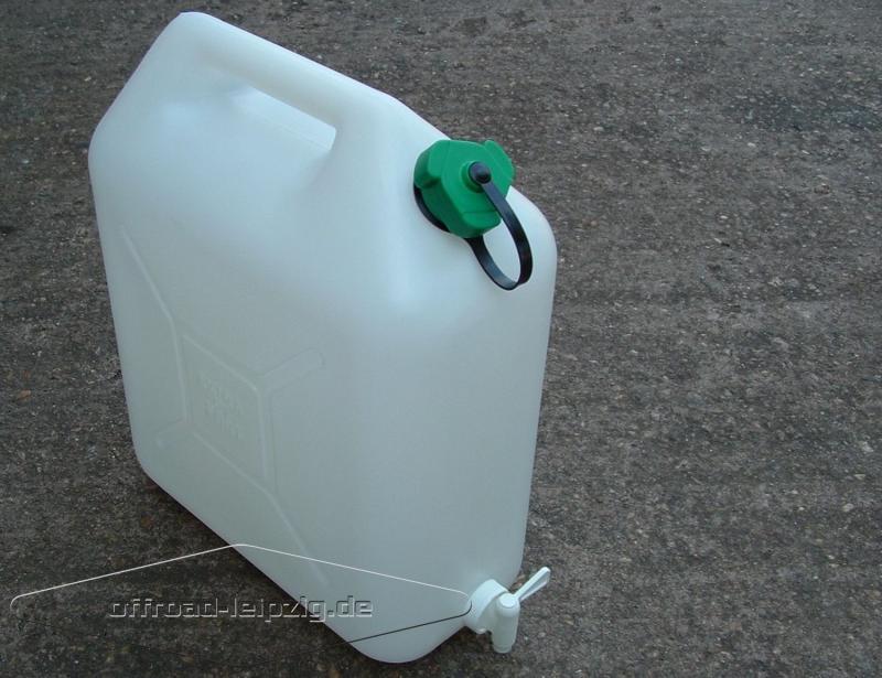 Relativ www.offroad-leipzig.de   20L Trinkwasserkanister, 20 Liter VK32